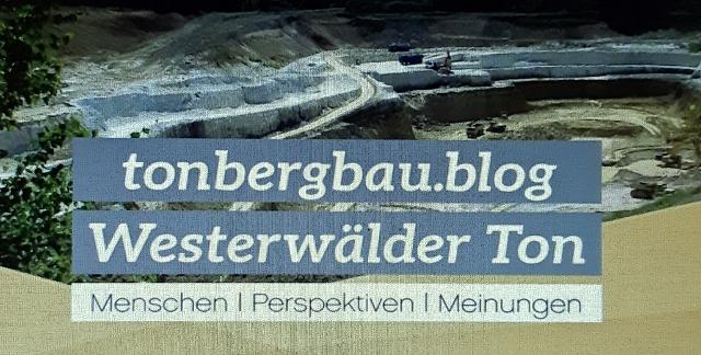 Neuer Blog 'Tonbergbau'